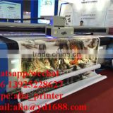 Digital large format wallpaper printing machine,pvc wallpaper printer with 150sqm/h