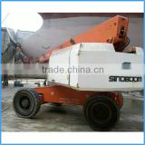 Facade cleaning equipment hydraulic manlift