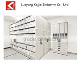 Fashional and modern design mobile filing cabinet filing cabinets compact mobile shelving school library book shelves