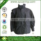 Stand Collar Zipper Front Fly Multi Pockets BDU Polyester Lining Alpine Mens M65 Air Field Winter Jacket