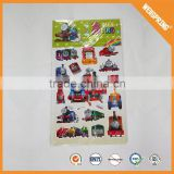 Famous sticker manufacturer eco-friendly kids 3d puffy sticker