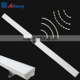 LED hanging sensor pendent light office linear light with motion sensor dimming sensor linear light