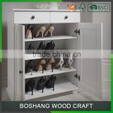 Custom Outdoor Portable Easy To Assemble Cheap Wooden Waterproof Storage Kids Corner Vertical Shoe Rack For Boots Design