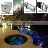 Aluminum alloy swimming pool 150w fiber optic illuminator led light source