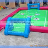 Durable 0.55mm plato pvc inflatable sports games football inflatable football field