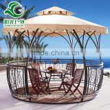China Supplier Cheap Wind Proof Gazebo,Outdoor Wrought Iron Gazebo for sale