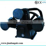 Reciprocating Air Compressor Pump piston type JL3080 with CE three cylinders air compressor pump