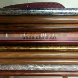 high quality 304 stainless steel handrail wooden grain stainless steel round tube for handrail