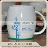 2014 newest hot selling ceramic blank coffee mugs wholesale
