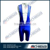 Custom protect sublimated lycra cycling bib shorts