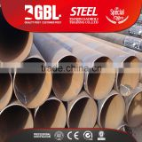 SSAW Spiral Submerged Arc Welded Steel Pipes steel tube 3 to 12m Length 219 to 3500mm Outer Diameter