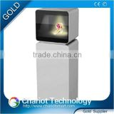 Chariot 3d holographic projector 3d holographic advertising showcase with low price on sale.