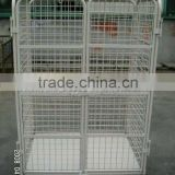 JS Plastic baseboard storage trolley, Mobile trolley with wheels, Foldable cart