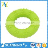 funny green animal toy bulk plastic animal toys rubber circle toy
