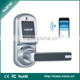 computer controlled key code door lock suitable for 4S IOS Version or Android Phones