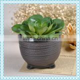 Wholesale stocked antique plant pot , glazed porcelain plant pot ,stoneware plant pot