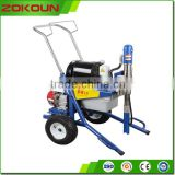 New advanced 5.5kw paint spray machine, automatic airless wall spray paint