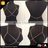 Bro Shape Design Sex Gold Body Chain