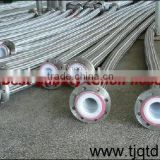 PTFE Teflon hose with 304 braiding cover