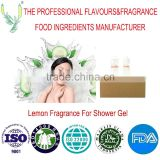 Wholesale,longlasting and good smell lemon fragrance used in showder gel products, brand fragrance,for body wash, lemon oil