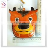 COW animal shaped leather coin purse