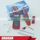 Multi-function LCD display Lan Cable Tester NF-838 Network Cable Tester USB BNC RJ11 RJ45 Wire Tracer Cable fault