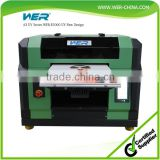 Best sale a3 WER E2000UV ,uv glass printer digital flatbed printer for phone case pen and USB printing machine