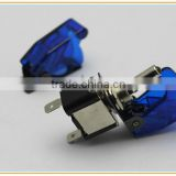 Race car illuminated ASW-07D toggle switch 12vdc LED and aircraft Flip safety cover sac-01
