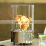 Ethanol fireplace FD40 + Stainless steel burner + Table top