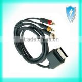 For Xbox 360 Component HDTV Video and RCA Stereo AV Cable