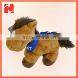 Shenzhen factory custom plush stuffed baby rocking horse toys