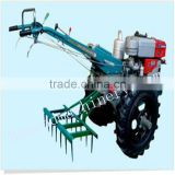 2 wheels hand operated tractor for sale +86 15937107525