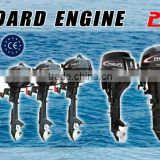outboard engine F5BMS/L( four stroke,back control, manual start, 5HP,air-cooled)
