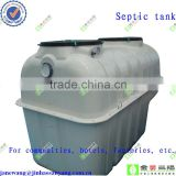 FRP septic tanks for waste
