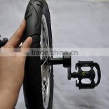 12 inch unicycle solo wheel with cranks and pedals