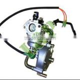 6.5KW 190F New Dual Fuel LPG Carburetor Non-Geniune Parts For Gasoline Generator Parts L&P Parts