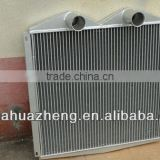 aluminum plate wheel loader hydraulic oil radiator heat exchanger