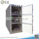 Stainless steel customizable body mortuary cabinets