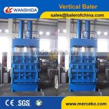Hot sale Manual valve doubler culinder compress vertical dedicated tire baler