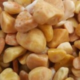 Yellow Colored Gravel Washed Stone For Floor 20 - 30mm