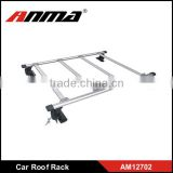 2017 new Universal chrome metal Car roof rack prado roof rack