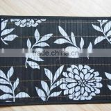printed bamboo placemats and tablemat