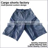 6 pocket custom design Cheap mens Cargo Shorts