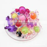 DIY candy acrylic beads charms for hair jewelry accessories custom candy acrylic charms beads for children jewelry accessories