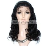 Factory Wholesale Customized 100% Human Hair Cheap Silk Base Full Lace Wig With Baby Hair