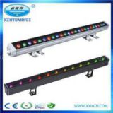DC24V Stainless Steel LED Wall Washer Lights Fixture RGB Color Changeable