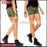 High Quality New Design Military Bodycorn Women Shorts Wholesale Camo Print Custom Lady Pants