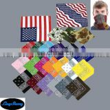 Promotional design custom promotional printed square bandana is hot sale .LS01