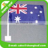 2017 world cup car flag, germany flag with black plastic pole