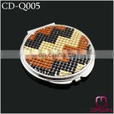 Bling Bling Jeweled Compact Mirror CD-Q005